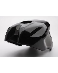 CA Cycleworks Track Tank for Fuel Injected Ducati Monsters (with Metal Tanks), Black